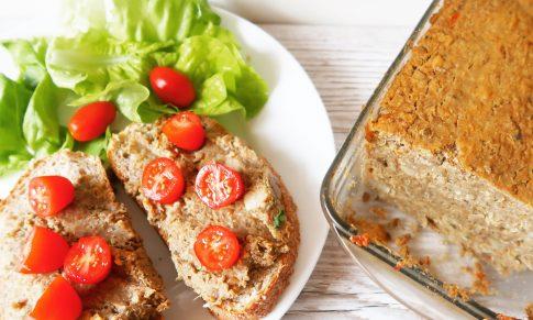 Pasztet z soczewicy i quinoa