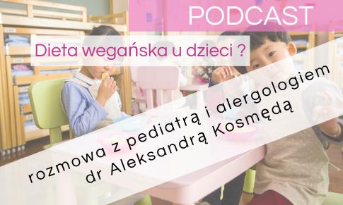 Dieta wegańska u dzieci – rozmowa z pediatrą i alergologiem – PODCAST