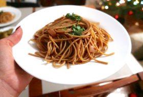 Spaghetti pełnoziarniste