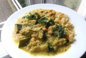 Kalafiorowo-brokułowe curry