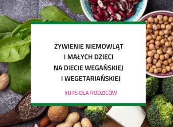 Żywienie niemowląt i małych dzieci na diecie wegańskiej i wegetariańskiej – kurs dla rodziców