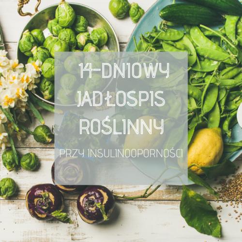 14 dniowy jadłospis przy insulinooporności