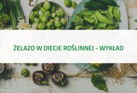 Żelazo w diecie roślinnej – wykład