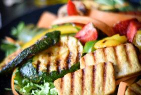 Roślinny grill