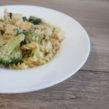 Makaron z brokułami w delikatnym sosie